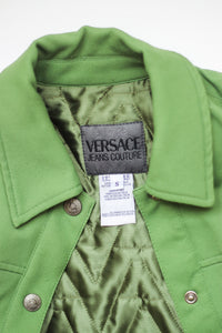 Versace Green Jacket