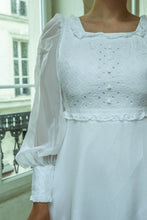 Load image into Gallery viewer, 1960 Nuptial Paris Bride Dress