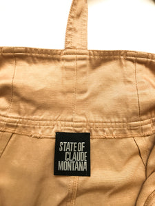 Claude Montana Suspenders Skirt