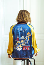 Load image into Gallery viewer, Reversible Satin Souvenir Jacket