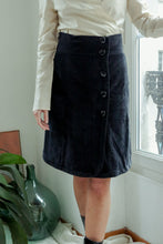 Load image into Gallery viewer, Sonia Rykiel Velvet Skirt