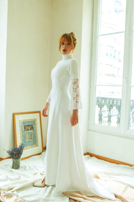 1960 Tailored Bride Dress