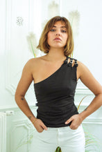 Load image into Gallery viewer, Moschino One shoulder Top