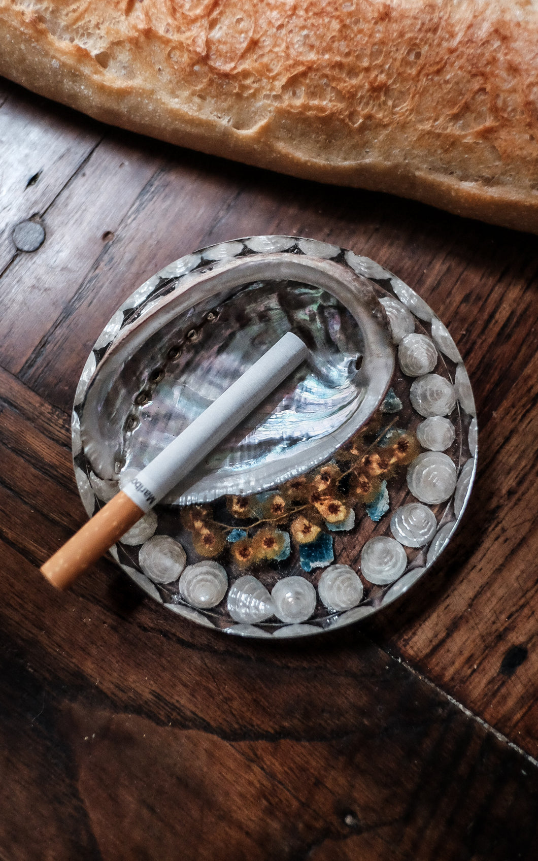 Alegria Crystal Ashtray