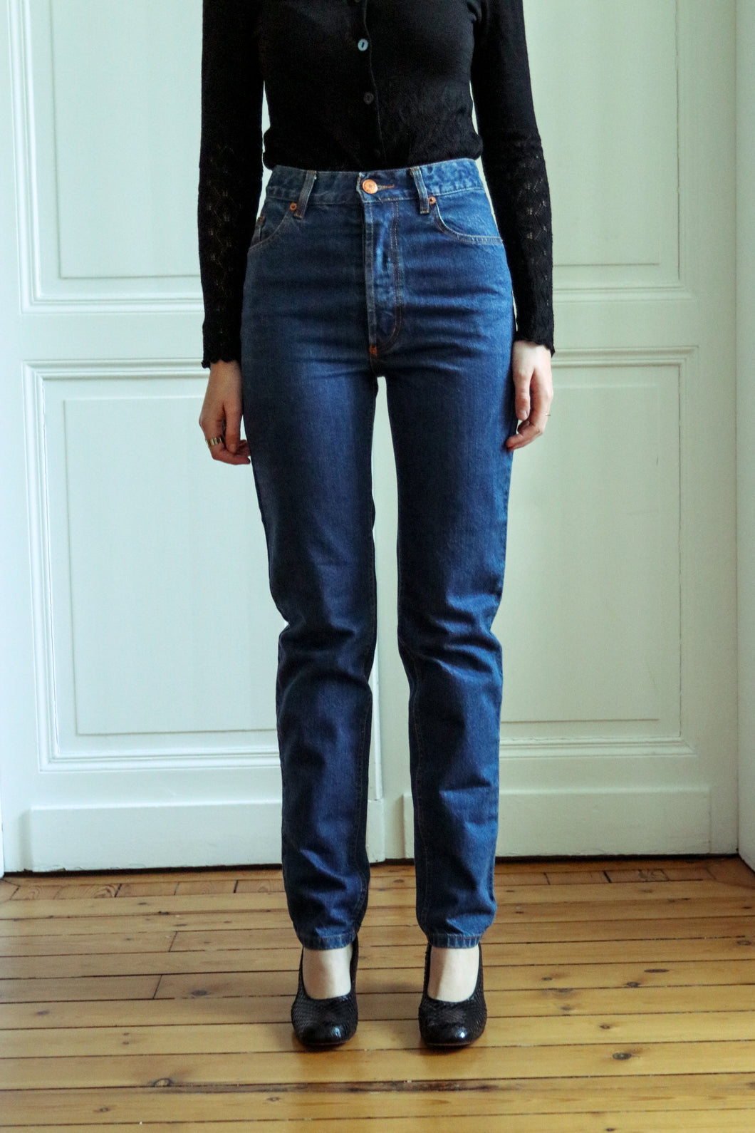 Jean Paul Gaultier High Waist Jeans