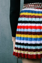 Load image into Gallery viewer, 1960 Hand knitted Mini Skirt