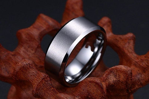 Ring Men Titanium Black - dealsonbox