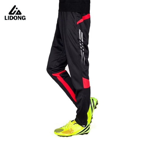Jogger Pants Football Training 2017 Soccer Pants Active Jogging Trousers Sport Running Track Gym Clothing Men's Sweatpant - dealsonbox