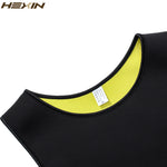 Men's Sweat Vest Body Shaper Shirt Hot Thermo Slimming Sauna Suit Weight Loss Black Shapewear Ultra Neoprene Waist Trainer - dealsonbox