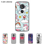 For Motorola Moto G6 Play 5.7 inch Solf TPU Silicone Color Paint DIY Case Mobile Phone Cover Bag Cellphone Housing Shell Skin - dealsonbox