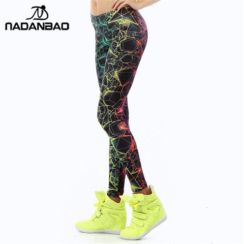 3D Printed Color Leggings - dealsonbox