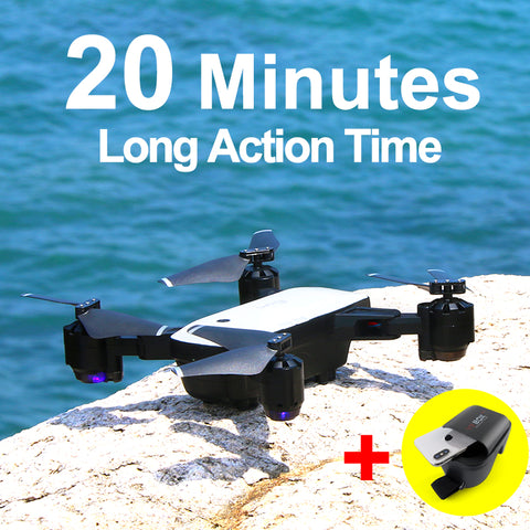 SMRC S20 Drone With HD 1080P Wifi Camera Quadrocopter Hovering FPV Quadcopters 5MP Folding RC Helicopter Storage bag toy for boy - dealsonbox
