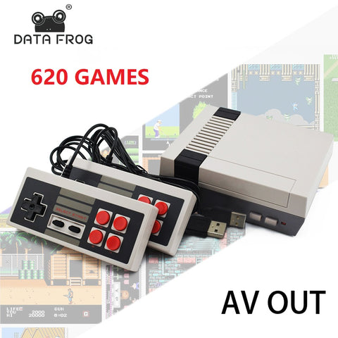 Data Forg Mini TV Game Console 8 Bit Retro Video Game Console Built-In 620  Games Handheld Gaming Player Best Gift - dealsonbox