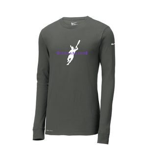 Nike Dri-FIT Cotton/Poly Long Sleeve Tee