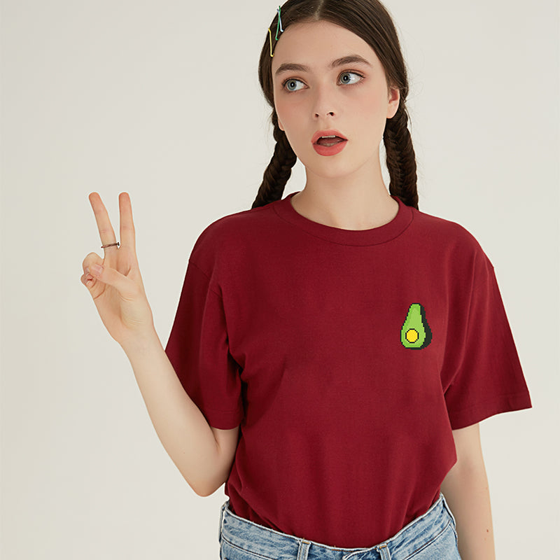 Avocado T-SHIRT - RED