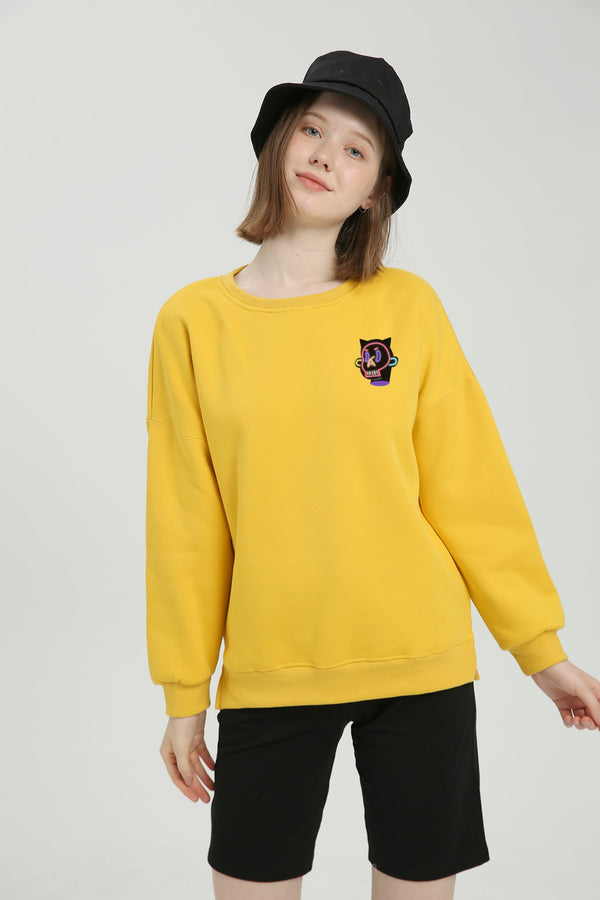 Shocked Sweatshirt - Mango Yellow