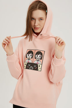 Onigiri's Biggest Nightmare Hoodie - Lotus Pink