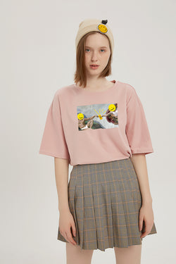 Creation of Cash Exchange T-Shirt - Lotus Pink
