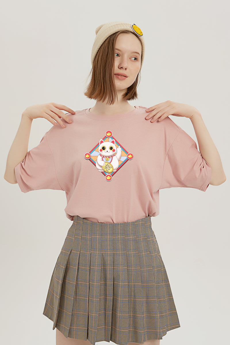 Please Go Away T-Shirt - Lotus Pink