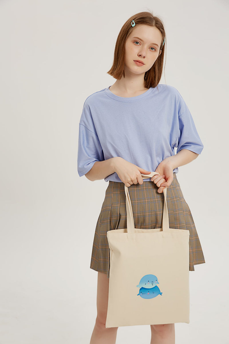 Over-Whale-Ming Tote Bag