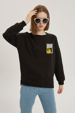 Instagram 2002 Sweatshirt - Charcoal Black