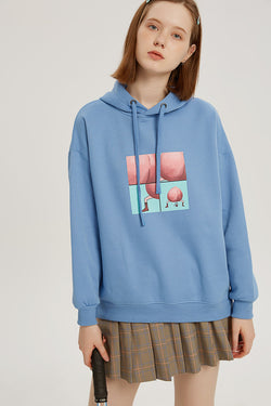 The Pit Stop Hoodie - Fog Blue