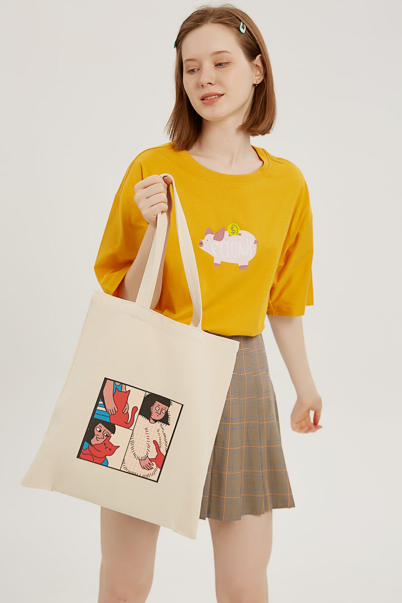 Static Shock Tote Bag