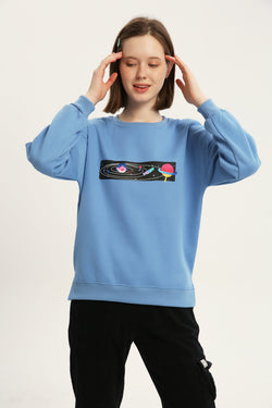 Out of This World Sweatshirt - Fog Blue
