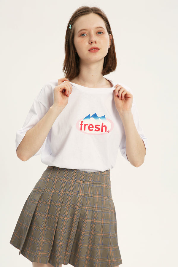 Fresh T-shirt - Bone White