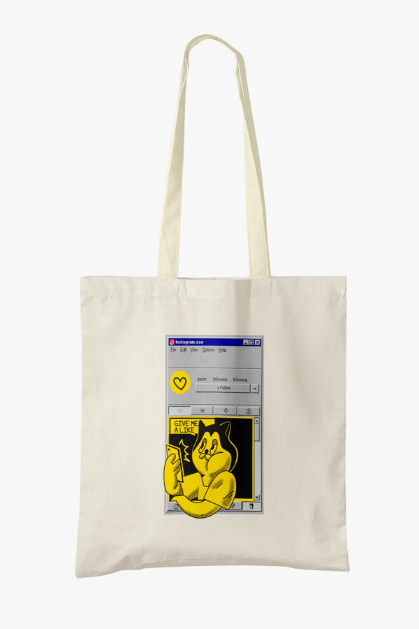 Instagram 2002 Tote Bag