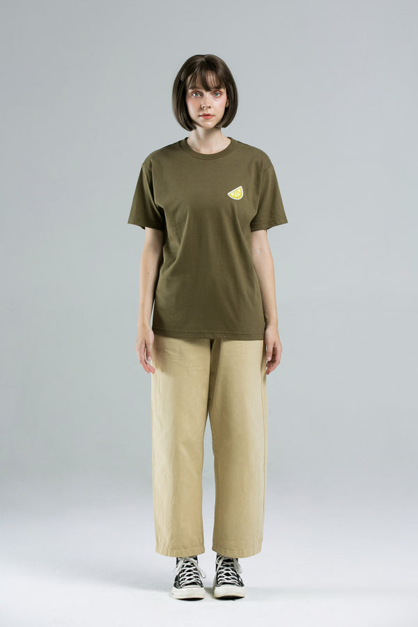 Lemon T-Shirt - OLIVE GREEN