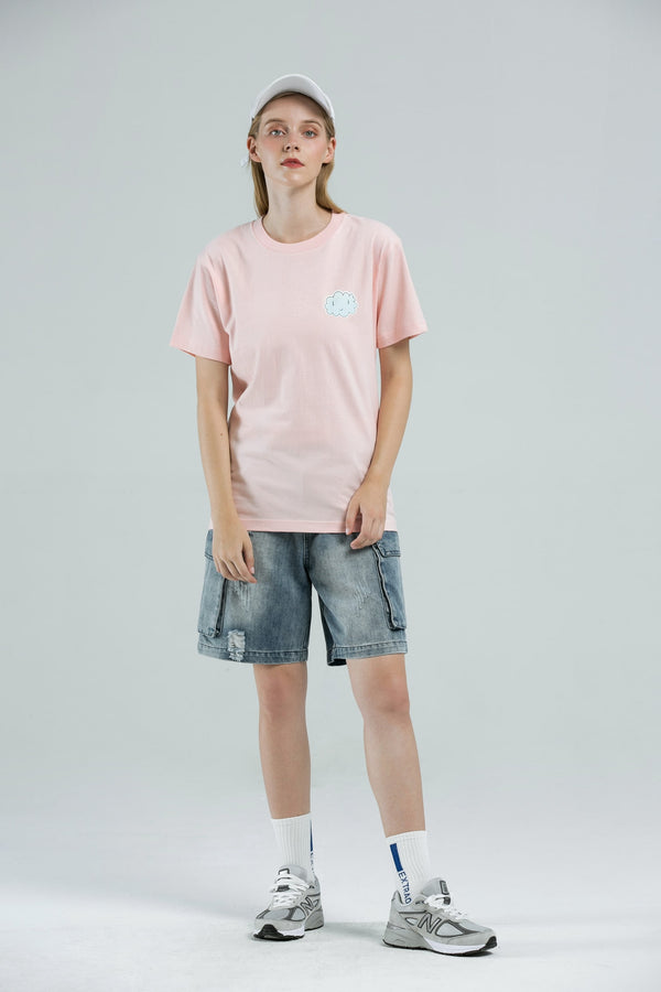 Cloud T-Shirt - LIGHT PINK