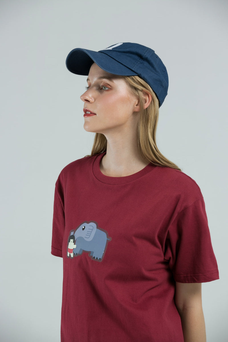 Elephant T-Shirt - RED