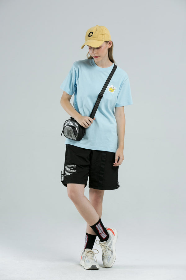 Crown T-Shirt - SKY BLUE
