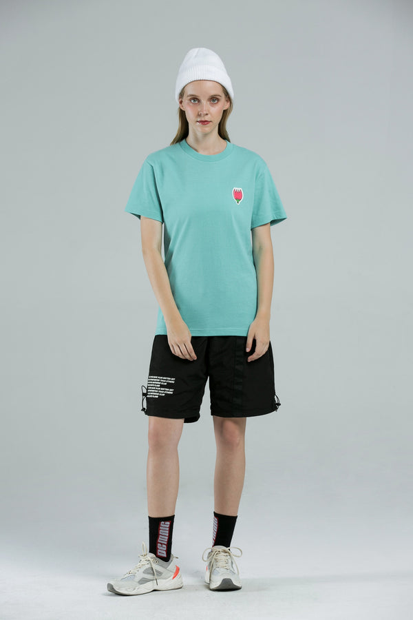 Rose T-Shirt - WATER GREEN