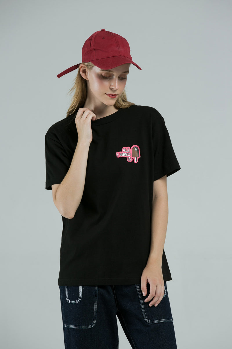 Popsicle T-Shirt - BLACK