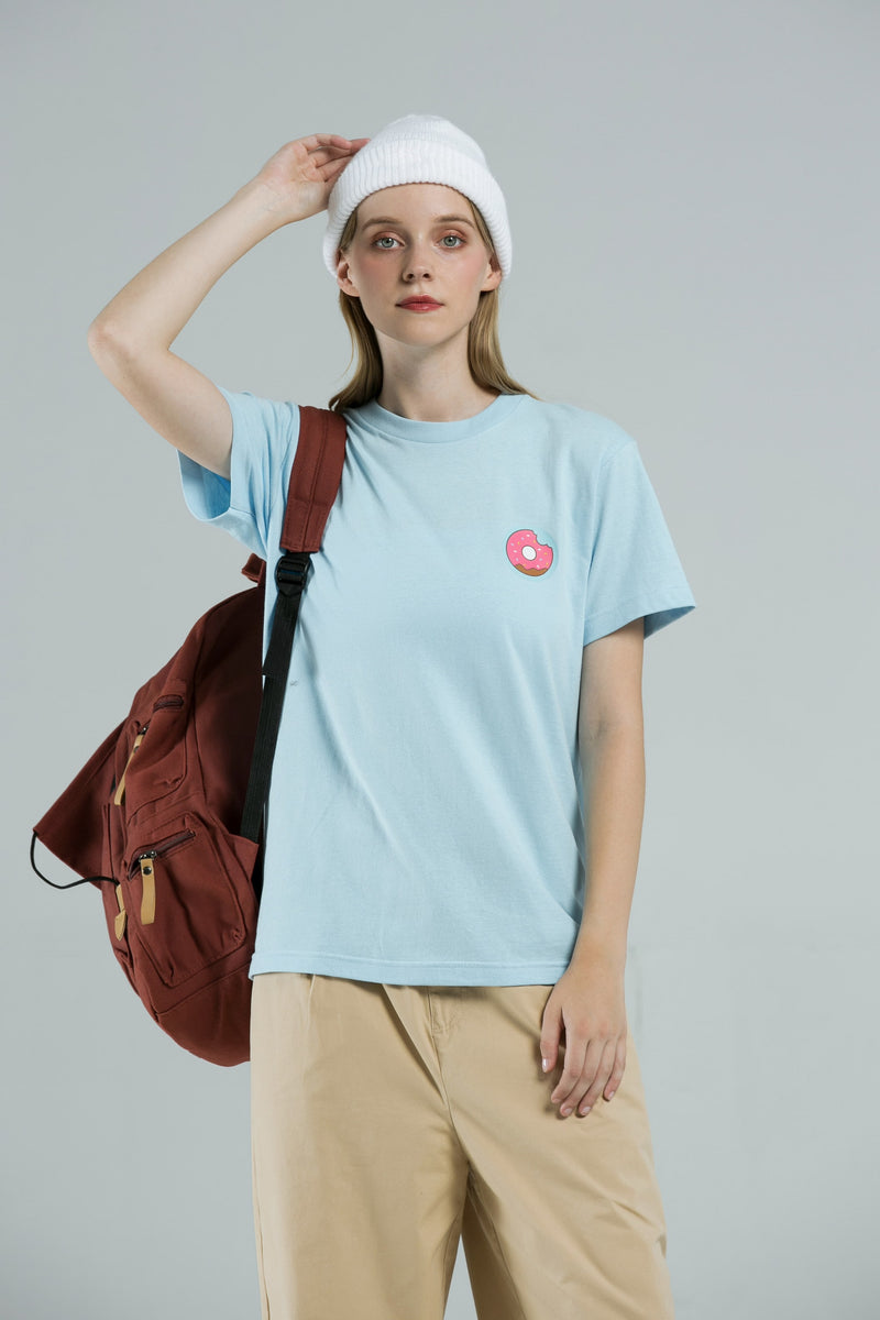 Donut T-Shirt - SKY BLUE