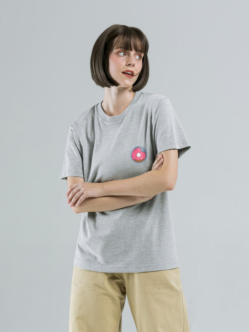 Donut T-Shirt - GREY