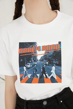 Abbey Road T-Shirt - White