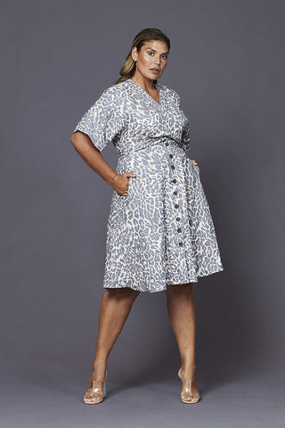 Angelika Linen Dress