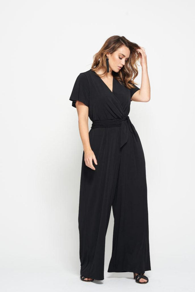 coco black jumpsuit