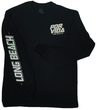 Load image into Gallery viewer, PV Rose Patch - Black - Long Sleeve