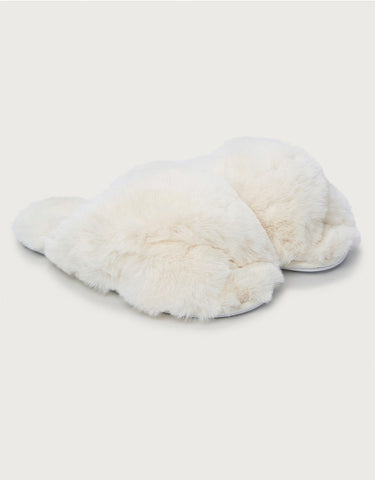 white company slippers