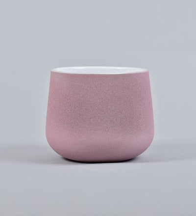 Pink Polystone Plant Pot Medium