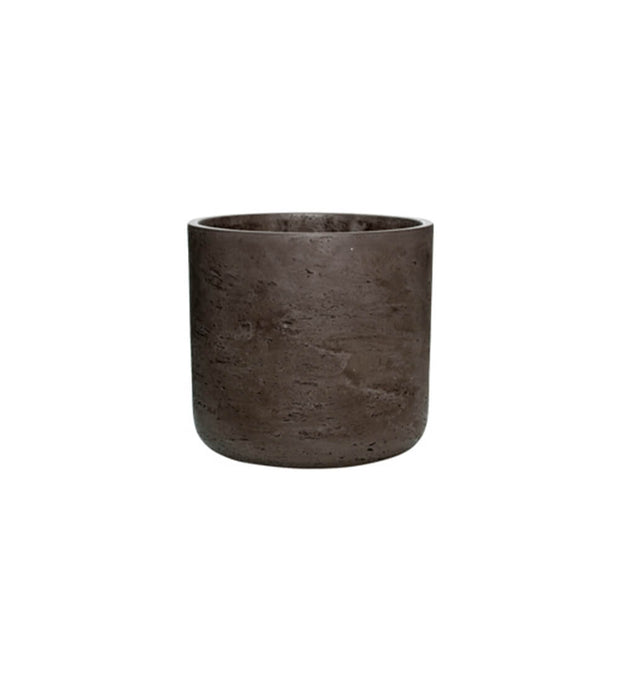 Medium Cocoa Concrete Plant Pot
