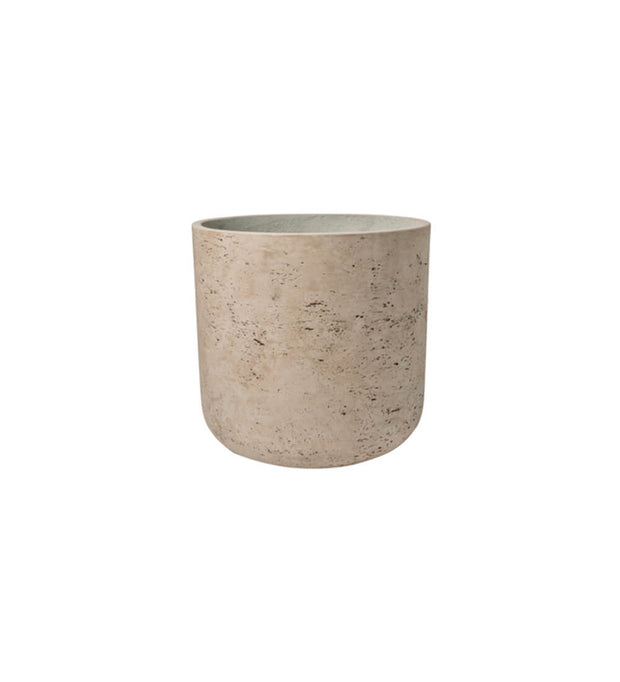Large Grey Concrete Pot W23cm