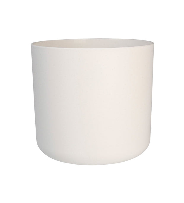 25cm White Matt Plant Pot