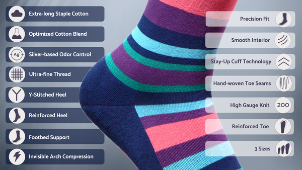 Module Dress Socks Features