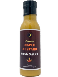 Canadian Maple Mustard Wing Sauce