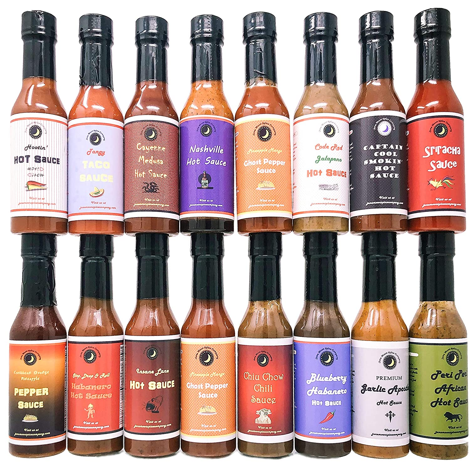 Hot Sauce | Variety 16 Pack
